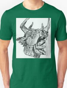 Mastodon Hunter Sketch T-Shirt