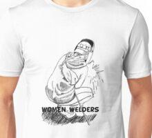 women welders Unisex T-Shirt