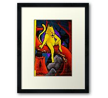 Sit Kit EE I Framed Print