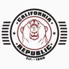 California Republik Shirt by Arek619