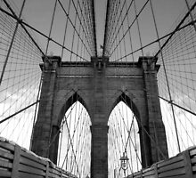 Brooklyn Bridge @ Manhattan/ Brooklyn, New York. by gkhmeow