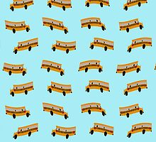 American schoolbus wallpaper by funkyworm