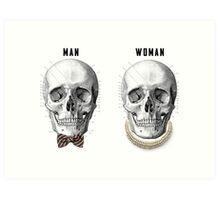 Man and Woman Art Print