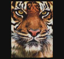Tiger Face One Piece - Short Sleeve