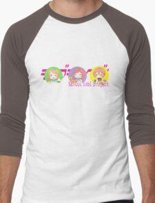LOVELIVE! 1ºYEAR Men's Baseball ¾ T-Shirt