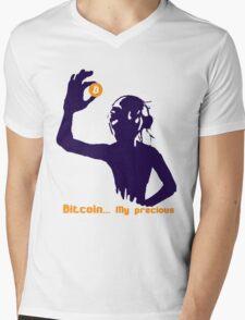Gollum Bitcoin Mens V-Neck T-Shirt