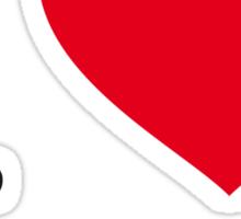 I ♥ SCHUBERT Sticker