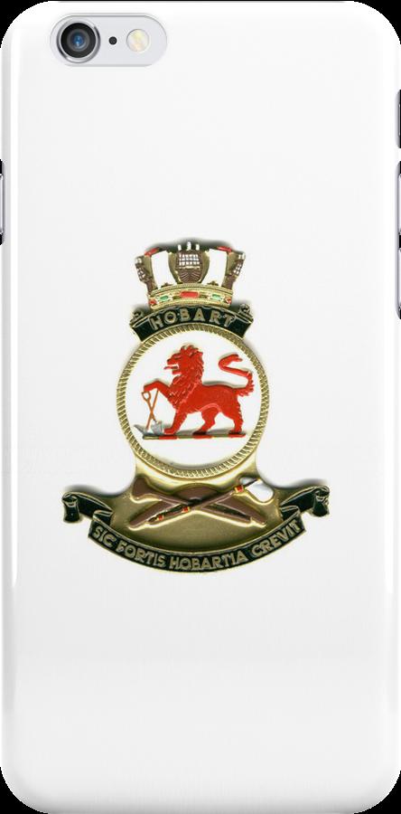 HMAS Hobart, DDG 39 - Phone Case by Peter Doré