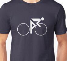 Riding Figure (White) Unisex T-Shirt