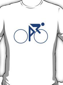 Riding Figure (Blue) T-Shirt