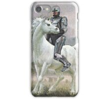 Robocop On A Unicorn iPhone Case/Skin