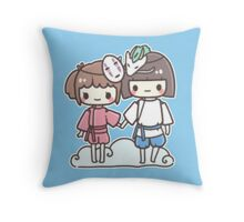 Spirited Away - Studio Ghibli Throw Pillow