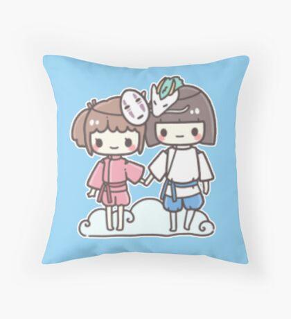 Spirited Away - Studio Ghibli Throw Pillow