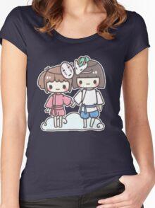 Spirited Away - Studio Ghibli Women's Fitted Scoop T-Shirt