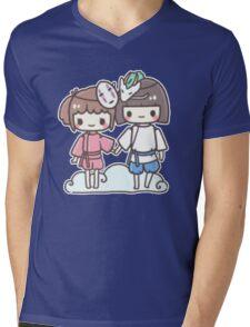 Spirited Away - Studio Ghibli Mens V-Neck T-Shirt