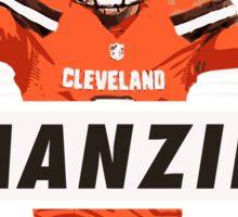 Johnny Manziel - Cleveland Browns Sticker