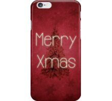 Merry Christmas Tree iPhone Case/Skin
