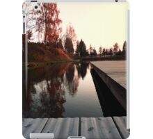 Romantic evening at the lake IV | waterscape photography iPad Case/Skin