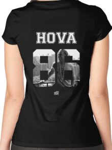 HOVA Varsity Women's Fitted Scoop T-Shirt