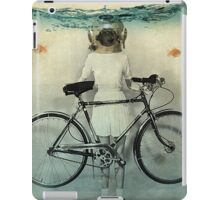 diving bell cyclist iPad Case/Skin