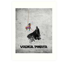 Vader Pinata Art Print
