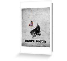 Vader Pinata Greeting Card