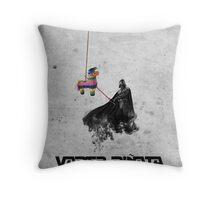 Vader Pinata Throw Pillow