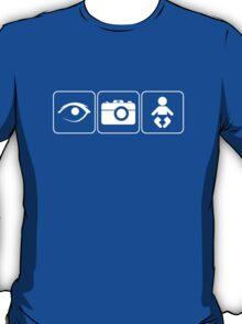 I Photograph Babies Light T-Shirt