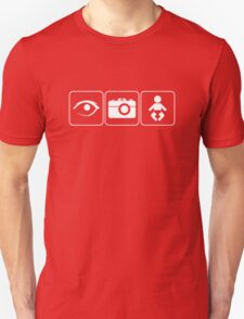 I Photograph Babies Light Unisex T-Shirt