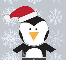 Penguin Xmas by Richard Darani
