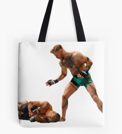 Conor McGregor Knocks Out Jose Aldo (base) Tote Bag