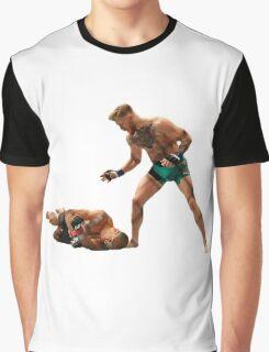 Conor McGregor Knocks Out Jose Aldo (base) Graphic T-Shirt