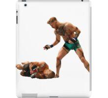 Conor McGregor Knocks Out Jose Aldo (base) iPad Case/Skin