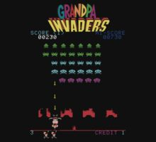 Grandpa Invaders by lunabluelion