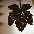 Glitter Leaf by John Dalkin