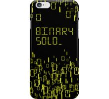 The human's are dead: Binary Solo iPhone Case/Skin