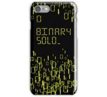 The human's are dead: Binary Solo iPhone Case/Skin