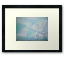 Swimming in the Mediterranean Sea 5 Framed Print