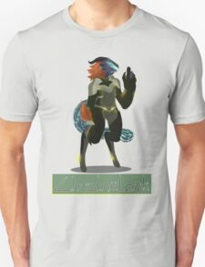 Chuolnēlzük: The Tough Lizard Pirate Unisex T-Shirt