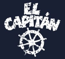 El Capitán Wheel Patina White by theshirtshops