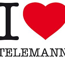 I ♥ TELEMANN by eyesblau