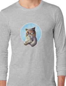 Grumpy Kitten Long Sleeve T-Shirt