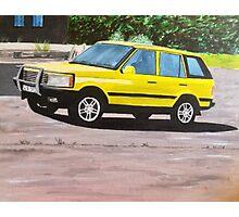 'Layer Cake' Range Rover Photographic Print