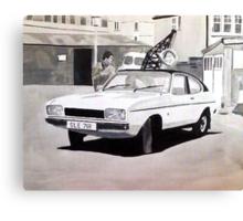 'Minder' Mk.2 Ford Capri 2.0s Canvas Print