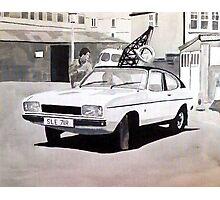 'Minder' Mk.2 Ford Capri 2.0s Photographic Print