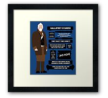War Doctor Quotes Framed Print