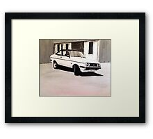 'The Professionals' Ford Escort RS2000 Framed Print
