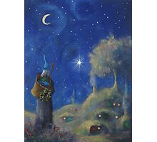 Hobbiton Christmas Eve Photographic Print