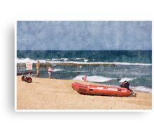 Afternoon Swim Canvas Print