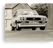 'The Professionals' Mk.3 Ford Capri 3.0s Canvas Print